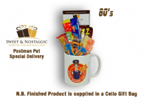 Postman Pat 'Special Delivery' Mug with/without 1980's retro sweets.